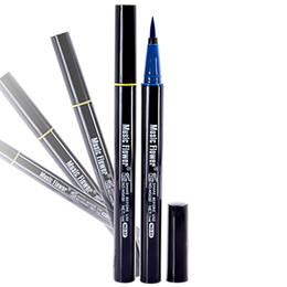 Gel Eyes Liner Australia - New Waterproof Liquid Eyeliner Pen Cosmetics Pen 24 Hours Long-lasting Eye Liner Pencil Eyeliner Gel Smooth Makeup Tool For Eye