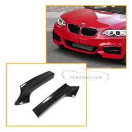 $enCountryForm.capitalKeyWord Australia - For BMW F22 Carbon Front Splitter 2 Series F22 M-Tech M235i M240i 2014 UP Carbon Front Lip Bumper Splitter Flaps Body Kits