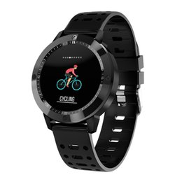 smart watches for iphone Australia - CF58 Smart Watch Blood Oxygen Blood Pressure Heart Rate Monitor Smart Wristwatch Fitness Tracker Camera Sports Bracelet For iPhone Android