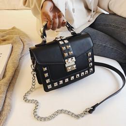 $enCountryForm.capitalKeyWord Australia - Spring Handbags Women Bags Shoulder Malas De Senhora Femme Fashion Rivet Flap Messenger High Quality Leather 2019 Ladies Bag