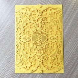 White Rose Card Wedding NZ - 30pcs   lot Rose Pattern Wedding Invitation Cards Luxury Envelop Nature Style Engagements Retro Business Meeting Easter