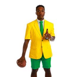 $enCountryForm.capitalKeyWord UK - Custom Made Summer Mens Tuxedos Beach Slim Fit Two Button Groom Wear Best Man Party Prom Blazer Suits(Jacket+Pants)