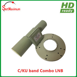 Ingrosso Banda LNB dual band C / KU di spedizione gratuita con alta qualità del segnale