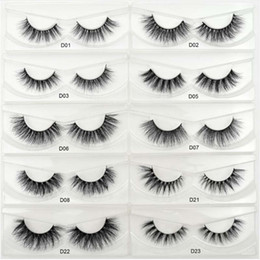 $enCountryForm.capitalKeyWord Australia - 300Pairs lot Distributor Natural Cotton Thread False Eyelashes Cross Messy Curly Soft Fake Eyelashes Stage Show Makeup Thick Eye Lashes