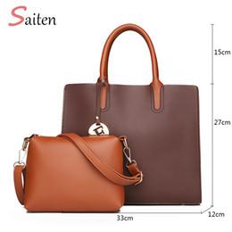 Top Ladies Handbags Australia - New Women Bag Top-Handle Large Capacity Female High Quality Handbag Fashion Shoulder Bag Purse Ladies PU Leather Crossbody
