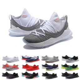 curry blue shoes Australia - New Sale Stephen Basketball Shoes Curry 5 Mens Womens Currys 5s Championship MVP Finals Sports training Trainers Shoe Sneakers