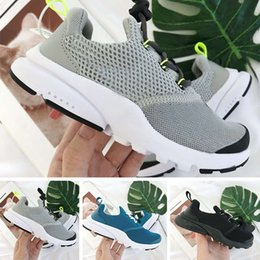 Boys Shoes 24 NZ - 2018 New Comfortable Light Children Shoes Presto Shoes Boys,Boys Shoes for Girls,Wearable Girls Trainers Kids,Sneakers Child Eur 24-35