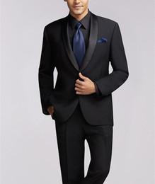 $enCountryForm.capitalKeyWord Australia - 2019 Latest Coat Pant Designs Men Suit Jacket Prom Tuxedo Slim Fit 2 Piece Groom Style Suits Custom Blazer Masuclino