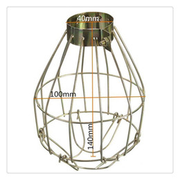 Metal Lamp Bulb Guard Clamp Vintage Light Cage Hanging Covers lampada industriale Ciondolo Decor per Home Bar on Sale