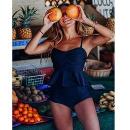 $enCountryForm.capitalKeyWord Australia - 2019 Push Up Tankini Set Swimsuit Women Swimwear Plus Two Piece Suits Print Bathing Suit Beach Wear Swim Maillot De Bain Female S19709