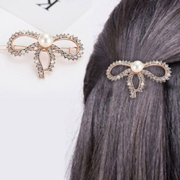 Hair Clips Butterfly Shaped Australia - 2019 3 Pcs Set Korean Style Girls Barrettes Crystal Rhinestone Hair Clips Women Butterfly Love Shaped Hairpins Clamp Accessories