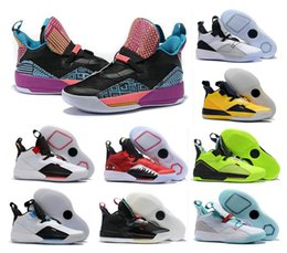 christmas tech 2020 - 2020 New Arrival Jumpman XXXIII 33 Mens Basketball Shoes for Cheap High quality 33s Multicolors Tech Pack Guo Ailun Trai