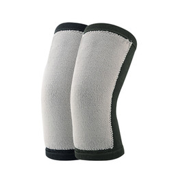Warm Knee Support UK - Breathable Bamboo Knee Brace Support Socks Compression Pads Protect Knee Bone for Men Women Keep Warm Close Health