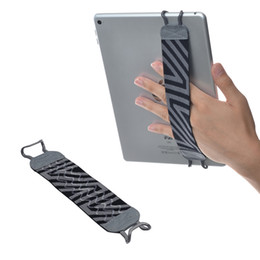 China TFY Security Hand Strap Holder with silicon for Tablets, iPad, & e-Readers - iPad Pro, iPad, iPad mini 4, iPad Air 2, Samsung Galaxy Tab & N suppliers