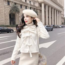 d126e1420 Shop Korean Women White Wool Coat UK | Korean Women White Wool Coat ...