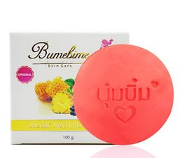 $enCountryForm.capitalKeyWord Australia - New Bumebime Mask Natural Soap Handmade Whitening Soap With Fruit Oil-Essential Deep Clean Bright Oil Soap 100g