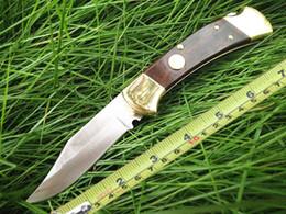 Vente en gros 2019 NOUVEAU couteau MI 112 tactique en laiton manche en ébène 6.9