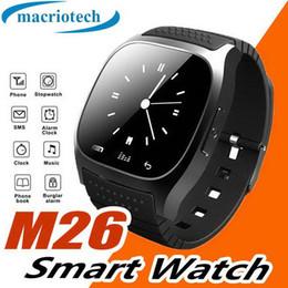 $enCountryForm.capitalKeyWord Australia - Wrist Smart Watch M26 Waterproof Smartwatch Call Music Pedometer Fitness Tracker For Android Smart Phone