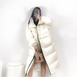 $enCountryForm.capitalKeyWord Australia - 2019 New Winter Coat Women 90% White Duck Down Jacket Women Thick Long Down Parka Winter Jacket Female Loose Warm Coat