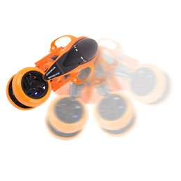 Wholesale Rc Car wd Quad Bike Toy Motorcycle Radio Remote Control Car Drift Cool Rotation Charging Light Toys For Children Off Road