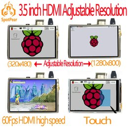 5.7 Inch Touch Screen Australia - raspberry pi 3.5 inch hdmi LCD touchscreen touch screen 60 fps high speed 3.5inch better than 5 inch and 7