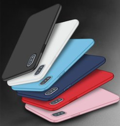 Cell Phone Cases For Cheap Canada - New for iPhone XS MAX XR X 6S 7 8 plus TPU Silicone Soft Cell Phone Cases Slim Ultra Thin Cheap Cell Phone Case Cover Candy Colors