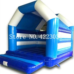 Discount inflatable toys castle - Free Shiping Bouncer House Inflatable Bouncer Castle Jump Castle Inflatable Slide Outdoor Inflatable Toy For Kids