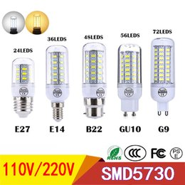 Light Bulbs 5w 7w 9w 12w 220v Bullet Bulb Led Yellow White Candle E14 Energy Saving Light Bulb Factory Wholesale For Table Lamp Drip-Dry