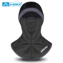 Hat mask men online shopping - INBIKE Thermal Fleece Hat Hooded Neck Warmer Cycling Face Mask Winter Sports Face Mask for Men Bike Helmet Beanies Masked Cap