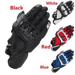 $enCountryForm.capitalKeyWord Australia - Leather Racing Glove S1 Motorcycle Gloves Driving Bicycle Cycling Motorbike Sports Moto Racing Gloves for Yamaha KAWASAKI Bike