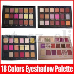 18 palette online shopping - Beauty Eye Makeup Eyeshadow Colors Eye shadow Textured Eye Shadow Palette Matte Shimmer New Nude Shadows