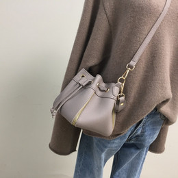 $enCountryForm.capitalKeyWord Australia - Free2019 Bring Take Bucket Oblique Satchel Litchi Grain Woman Package Handbag Packet Leisure Time Single Shoulder