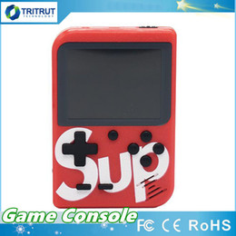 SUP Games Console 400 in 1 Portable Handheld Game Pad Retro 8 bit 3 Inches Color LCD Display Best Gifts for Kids MQ20 on Sale