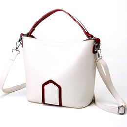 ladies messenger handbags Australia - Women For Girls Casual Adjustable Strap Accessories Ladies Messenger Handbag PU Leather Cross Body All-Match Contrast Color