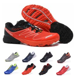 S lab online shopping - Classic S Lab Sense runner Soft Ground wings mens Running Shoes outdoor hiking jogging Athletic Shoes Mens Sports Sneakers size
