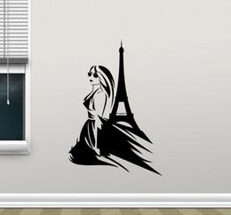 $enCountryForm.capitalKeyWord Australia - Wall Decals Romantic Paris Eiffel Tower Beautiful of France DIY Wall Stickers Wallpaper Art Decor Mural Room Decal Vinyl