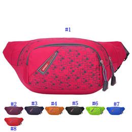 Waterproof bum bag online shopping - Running Bag Waterproof Sports Chest Shoulder Bags Belt Bum Pouch Unisex Waistbag Hiking Zip Bag Fanny Pack MMA2446