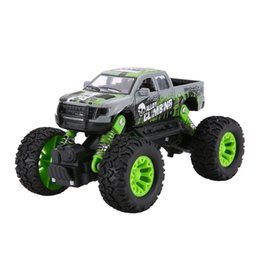 helicopter pull toy NZ - Metal Diecast Alloy Truck SUV Model Car Off-Road Vehicle Climbing Car Pull Back Sliding Car Toy Educational Toys For Boys Kids