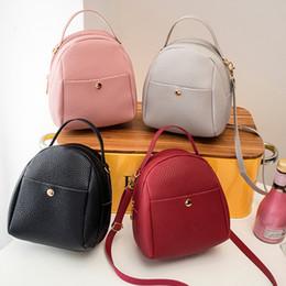 Cute Backpacks For Teenage Girls Australia - 2019 Fashion Multi-use Mini Small Cute Backpack for Teenage Women Girls with Earphone Hole Schoolbag
