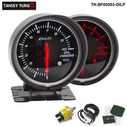 $enCountryForm.capitalKeyWord Australia - Tansky Defi Guage 60mm OIL PRESSURE GAUGE Oil Pressure Meter Car meter Auto Gauge Black Bracket TK-BF60003-OILP