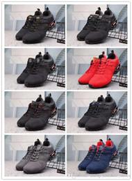 86fb9589c2bc5a Latest New Arrival 2019 Shox Ultra Running Shoes KPU Cushion Mens Women Athletic  Sports Sneakers Trainers Black Grey Khaki ULTRA shox 36-45