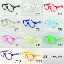 11 Pure Coloré Pour Les Enfants Nerd Eyewear Cadre Enfants Lunettes De Soleil Fram Pas De Verres Bébé Parti Lunettes DHL Livraison Gratuite
