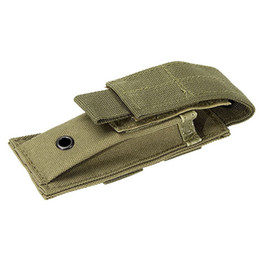 Knife Holsters Australia - Multifunction Practical Tactical Nylon Flashlight Holster Folding Knife Pouch Magazine Pouch Hunting Camping Outdoor Sports #304203