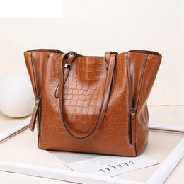 Hand Bag Large Brown Australia - 2019 Handbags Women Bags Designer Pu Leather Handbags Bags For Women Large Hand Bag Bolsa Top-handle Bags Lw-143