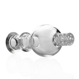 Best Bongs online shopping - Best Cyclone Riptide Carb Cap Glass Bubble OD mm Clear Caps for Terp Pearl Quartz Banger Nails water bong