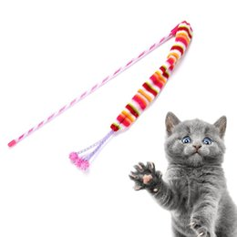 Игрушки для кошек цвета радуги смешные палочки для кошек на Распродаже