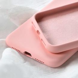 $enCountryForm.capitalKeyWord Australia - Phone Cases For iPhone 7 8 6 6s Plus 5S SE Liquid Silicone Original Soft TPU Fundas Cover For iPhone XS Max XR X Case Shockproof