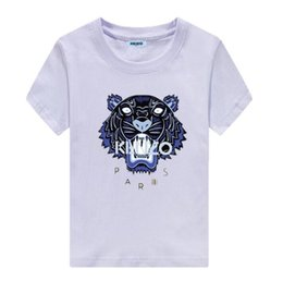 $enCountryForm.capitalKeyWord Australia - Brand designKENZO children's clothing summer new children's T-shirt cotton high-end comfort burst models round children's clothing