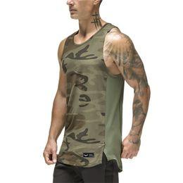 ef6582a8d43 Summer Brand Fitness Men Tank Top Men Stringer Golds Bodybuilding Muscle  Shirt Workout Vest New Gyms Male Undershirt Singlets  208428
