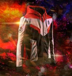 War dress online shopping - Avengers Endgame Hoodie Advanced Tech Merchoid War Dress The Avengers Clothes Toys Cosplay Costume D Print Zipper Jacket Pullover